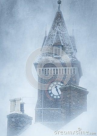 Free Newbury Clock Tower Stock Images - 8157334