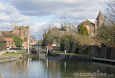 Newbury Lock, Berkshire