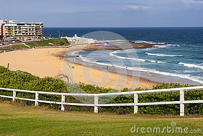 Newcastle beach, Australia