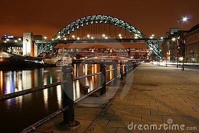 Newcastle - Tyne bridge
