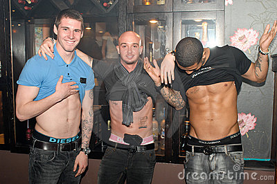 Newcastle United footballers Leon Best and Stephen Editorial Photo