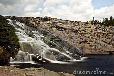 Newfoundland Waterfall