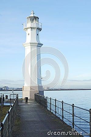 Free Newhaven Harbour Lighthouse Edinburgh Stock Photos - 22063093