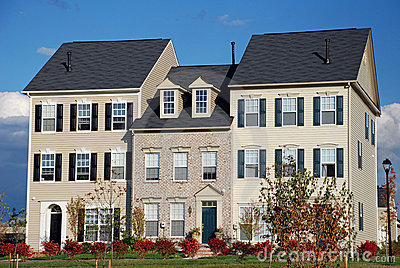 Newly Built Town Homes