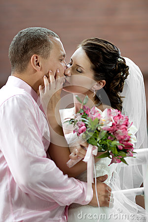 Free Newly Married Couple Stock Images - 26519354