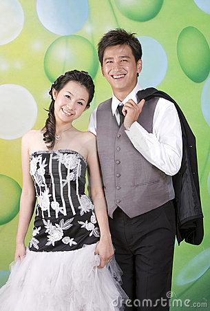 Free Newly Wed Couple 12 Stock Images - 7311504