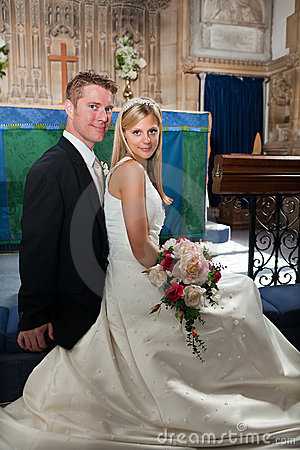 Free Newly Wed Couple Stock Images - 13090544