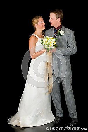 Free Newly Wed Couple Stock Image - 14330481