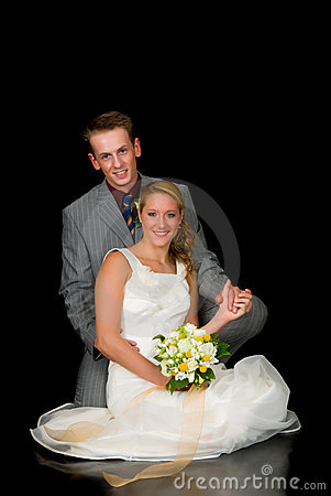 Free Newly Wed Couple Royalty Free Stock Images - 5558519