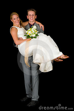 Free Newly Wed Couple Royalty Free Stock Photography - 7154327