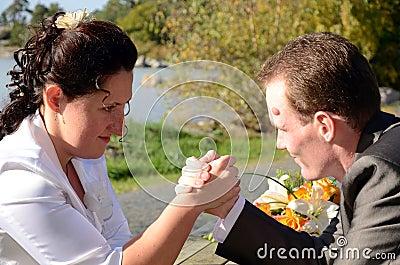 Newlyweds challenge