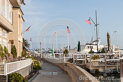 Newport Beach - Balboa Island walking trail