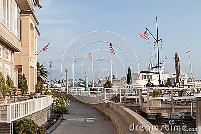 Newport Beach - Balboa Island walking trail