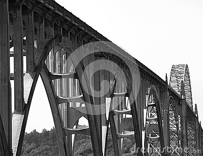 Newport bridge, oregon