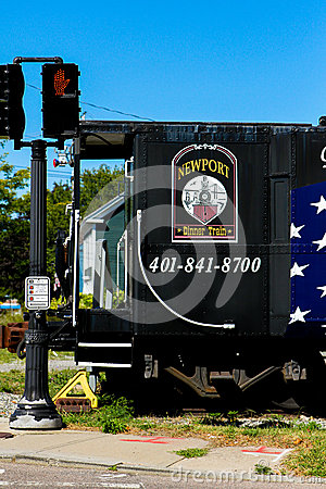 Free Newport Dinner Train. Royalty Free Stock Photography - 44195697