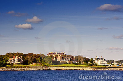 Newport Mansions Editorial Image