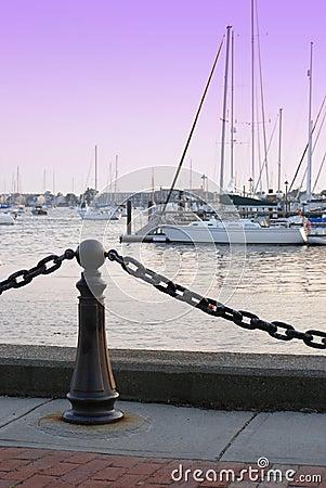Free Newport Marina Royalty Free Stock Photography - 927167