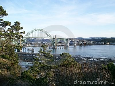 Newport Oregon Bridge Yaquina Bay