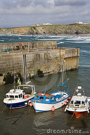 Newquay Harbor - Cornwall - United Kingdom