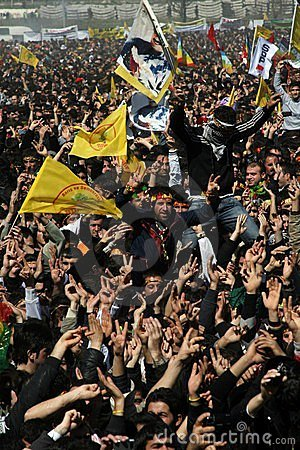 Newroz in Istanbul Editorial Stock Photo