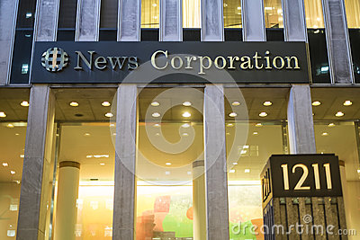 News Corporation Editorial Photo