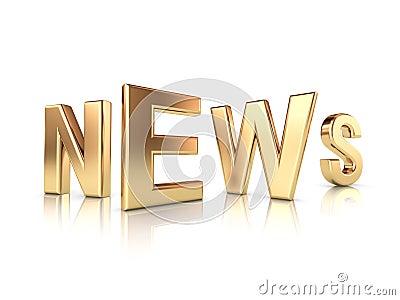 News gold title