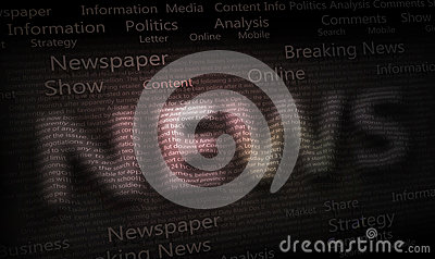 News Newspaper Background