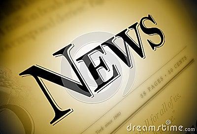 News Newspaper Text
