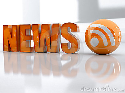 News and rss Editorial Image
