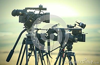 News video cameras