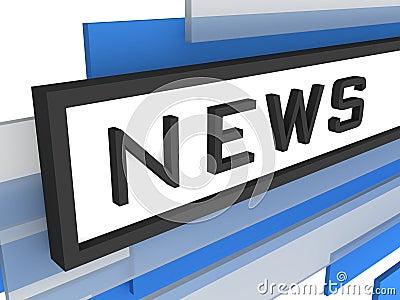 News web online concept