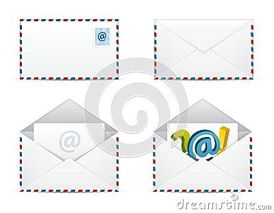 Newsletter-Ikonen-vektorset