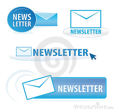 Newsletter symbols