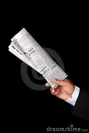 Free Newspaper Royalty Free Stock Photo - 5990045