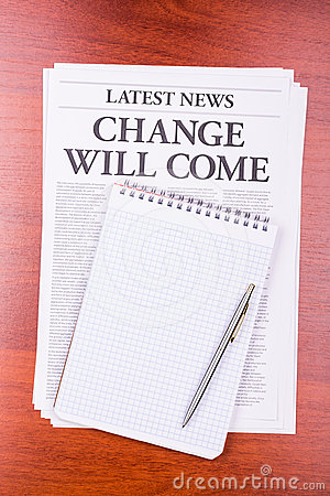The newspaper Change Will Come