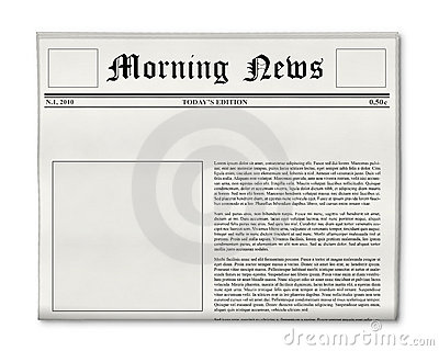 Newspaper Editorial Template Image Collections Template Design