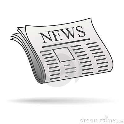Free Newspaper Icon Stock Photos - 18554603
