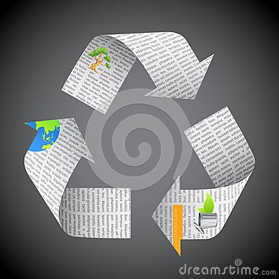 Newspaper Recycle