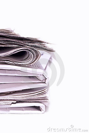 Newspapers Royalty Free Stock Photo - Image: 16634375