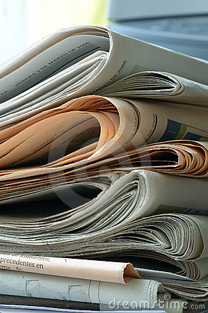 Free Newspapers Royalty Free Stock Images - 636189