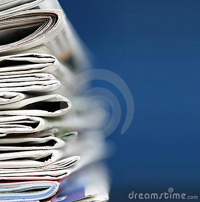 Free Newspapers Concept Royalty Free Stock Image - 4811566