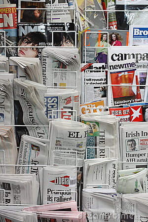 Newspapers and Magazines Editorial Photography