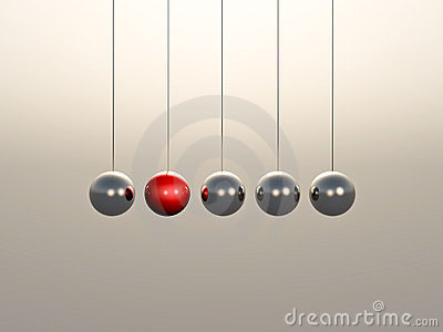 Newton Cradle spheres