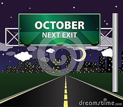 Next exit - october