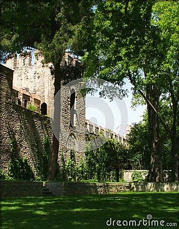 Next To The Topkapi Palace Walls