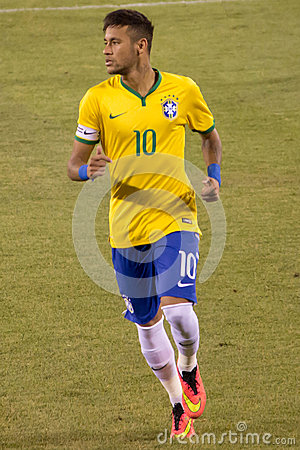 Free Neymar Brazil Stock Photos - 44612933