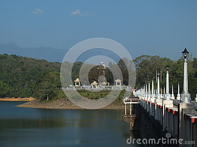 Neyyar Dam Editorial Stock Image
