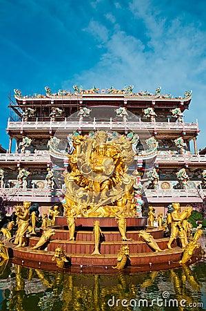Nezha,Naja Chinese Temple