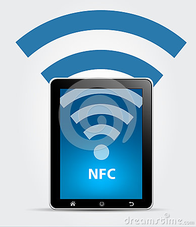 NFC Near Field Communication Concept