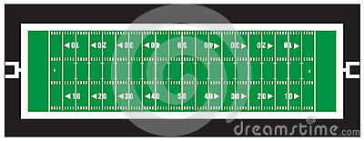 Nfl american football field